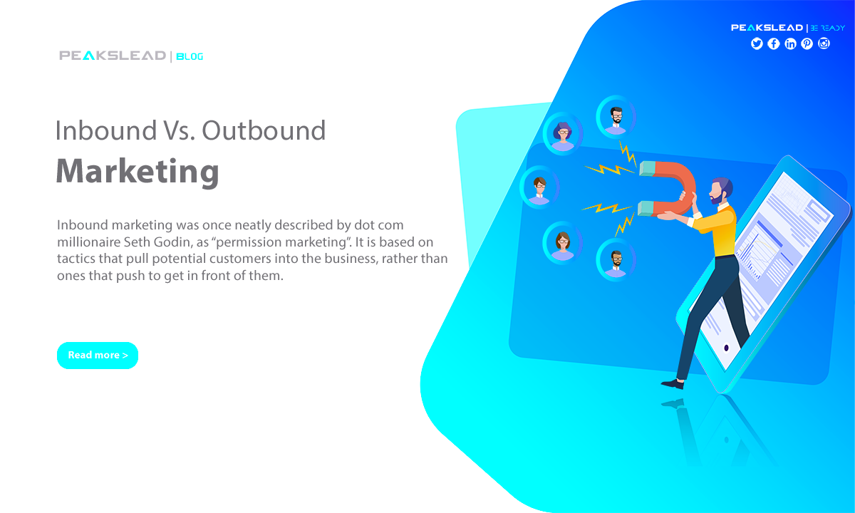 Inbound Vs. Outbound Marketing | PeaksLead