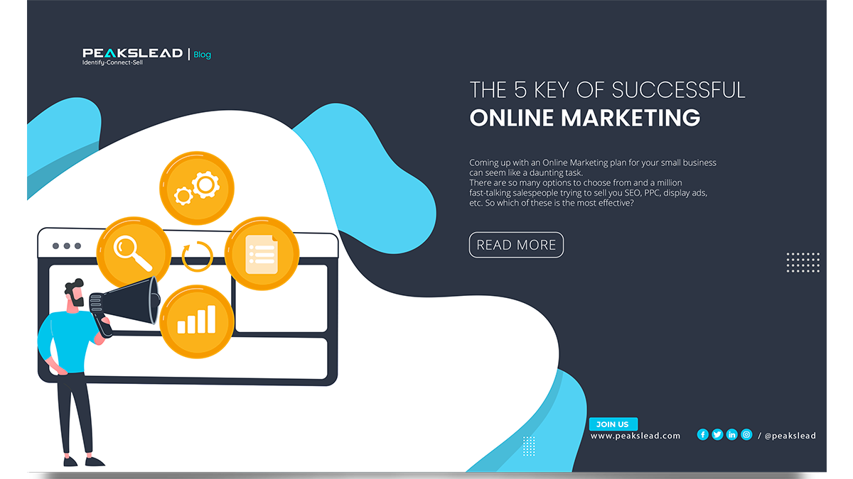 The 5 Key Of Successful Online Marketing