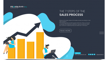 The 7 Steps of the Sales Process PeaksLead