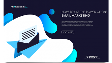 Email Marketing – How to Use the Power of One