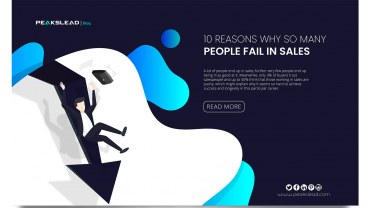 10 Reasons Why So Many People Fail In Sales